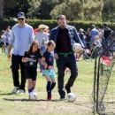 Ben Affleck spotted at his daughter  soccer game on Saturday April 1st, 2017 in Santa Monica, CA - 454 x 348