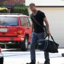 Kellan Lutz out in LA