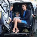 The Duke & Duchess of Cambridge Visit the Royal International Air Tattoo - 454 x 288