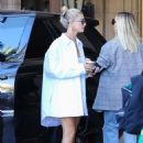 Hailey Bieber – Leaves the Montage Hotel in Beverly Hills