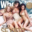 Jessica Marais, Natalie Imbruglia, Jennifer Hawkins - Who Magazine Cover [Australia] (6 December 2010)