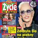 Kora Jackowska - Zycie na goraco Magazine Cover [Poland] (6 November 2014)