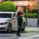 Cara Delevingne – On a Sushi dinner date with a mystery lady in Los Angeles
