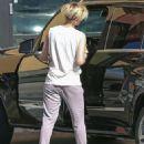 Scarlett Johansson In Sweatpants Run Errands In La