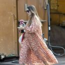 Lacey Turner – In long summer dress put in London