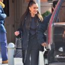 Bella Hadid and boyfriend The Weeknd – Leaving their apartment in New York