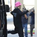 Hailey and Justin Bieber – Arrive for a doctor appointment in Beverly Hills