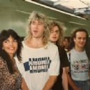 Joe Elliott and Karla Rhamdani