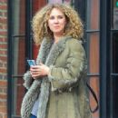Juno Temple is seen leaving The Bowery Hotel in New York City, New York on March 31, 2016 - 454 x 590