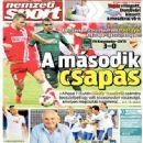 Nemzeti Sport - Nemzeti Sport Magazine Cover [Hungary] (8 August 2014)