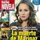 Laisha Wilkins, La fuerza del destino - Tele Novela Magazine Cover [Spain] (9 January 2012)