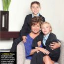 Leticia Calderón, Luciano and Carlos- TVyNovelas Mexico Magazine May 2013 - 438 x 433