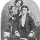 Harry Houdini- early picture when he and Betrice were first married - 340 x 580