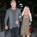 Jessica Simpson in Leopard Print Dress – Out in New York City - 454 x 664