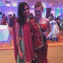 Holland at the wedding of friend Geeta Patel
