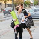 Kaley Cuoco and Karl Cook are seen out and about after a yoga class on January 23, 2017 - 454 x 576