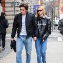 Nicola Peltz and Brooklyn Beckham – Out in New York City - 454 x 579