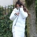 Michelle Keegan – on the set of 'Brassic' in Lancashire - 454 x 740