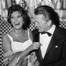 Kirk Douglas and Sophia Loren