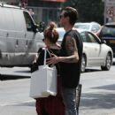 Ashley Tisdale and Christoper Out In Soho
