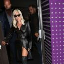 Lady Gaga – Leaving her hotel in London