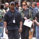 Julia Roberts On Set Of Money Monster In Nyc