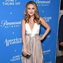 Chrishell Stause – Photocall for American Woman Premiere Party In Los Angeles - 454 x 674