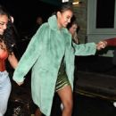 Maya Jama – Leaves S*** Fish restaurant in Mayfair - 454 x 631