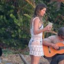 Gisele Bundchen on the beach in Santa Teresa