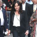 Shannen Doherty – Arrives at Good Morning America in New York City - 454 x 561