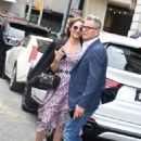 Katharine McPhee and David Foster out in New York City - 454 x 643