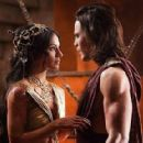 Taylor Kitsch and Lynn Collins
