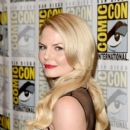"Actress Jennifer Morrison attends the ""Once Upon A Time"" press room during Comic-Con International 2015 at the Hilton Bayfront on July 11, 2015 in San Diego, California"