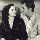 Robert Mitchum and Jane Russell