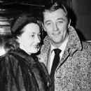 Robert Mitchum and Dorothy Mitchum - 449 x 480