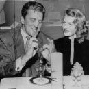 Kirk Douglas and Rita Hayworth