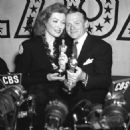 Greer Garson and James Cagney