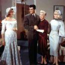 Rory Calhoun, Lauren Bacall, Betty Grable and Marilyn Monroe