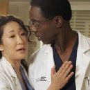 Isaiah Washington and Sandra Oh