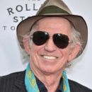 Keith Richards of The Rolling Stones attends The Rolling Stones celebrate the North American debut of Exhibitionism at Industria in the West Village on November 15, 2016 in New York City - 409 x 600