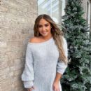Jacqueline Jossa – Winter Wonderland Part 2 Xmas Collection with In The Style 2020 - 454 x 568