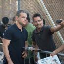 Matt Damon-September 29, 2015-at 'Jimmy Kimmel Live'