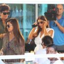Kourtney Kardashian: dinner in Miami