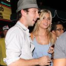 Alyson Michalka and Joel David Moore