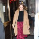 Kimberley Walsh – Arrives at Gaby Roslin special Christmas show in London - 454 x 684