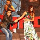 Priyanka Chopra, Ranveer Singh and Arjun Kapoor attend Gunday music launch (January 07, 2014)