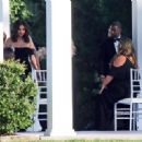 Selena Gomez – Spotted at her cousin's wedding in Los Angeles - 454 x 321