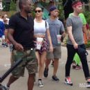 Katy Perry Visiting Dollywood In Tennessee