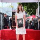 Allison Janney's newly unveiled Star at her Hollywood Walk of Fame star ceremony on October 17, 2016 in Hollywood, California - 439 x 600