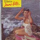 Jean Simmons - Fillette Jeune Fille Magazine Cover [France] (2 July 1959)